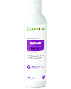 Clinicians Liposomal Turmeric 200mg 180ml