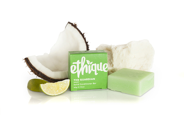 ETHIQUE Conditioner Bar for dry, damaged or fizzy hair. The Guardian 60g