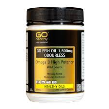 Go Healthy GO Fish Oil 1550mg Adv.Omega PC 200