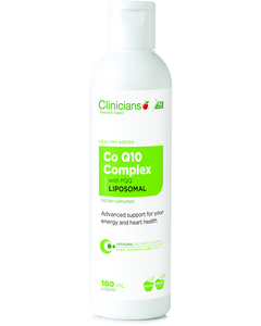 CLINICIANS Liposomal COQ10 +PQQ 100mg 180ml