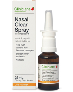 Clinicians Xylitol Nasal Clear 25ml