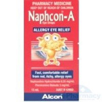 Naphcon A Eye Drops 15ml