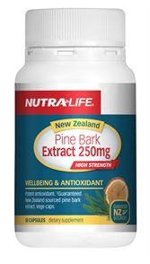 Nutra-Life NZ Pine Bark Extract 250mg 50cap
