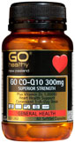 GO Healthy  COQ10 300mg + VitD 30 caps