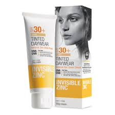 Invisible Zinc Light Tint SPF30 50g