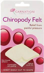 CARNATION Foot Chiropody Felt