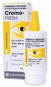 Cromo-Fresh 20mg/mL Eye Drops 10ml