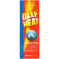 Deep Heat Regular Rub 50g