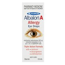 ALBALON A EYE DROPS 15ML