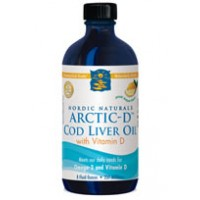 Nordic Naturals Arctic-D Cod Liver Oil Lemon 237ml