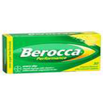 Berocca Performance Orange and Mangol Effervescent Tablets 30