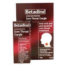 Betadine Sore Throat Gargle Concentrate 15ml