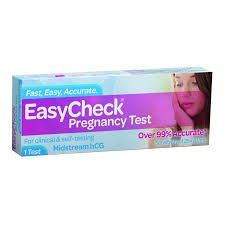 EASYCHECK Pregnancy Test 1Pk Blue