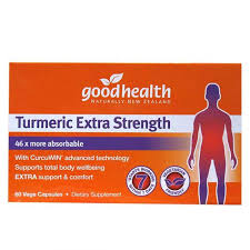 Good Health Turmeric Extra Strength 60caps