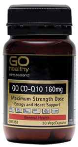 Go Healthy Go Co-Q10 160mg 30 caps