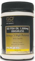 Go Healthy GO Fish Oil 1500mg Odourless 210cap