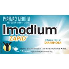 Imodium Zapid 12 tablets