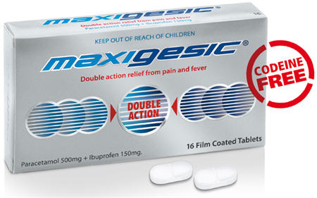 Maxigesic Tablets 16