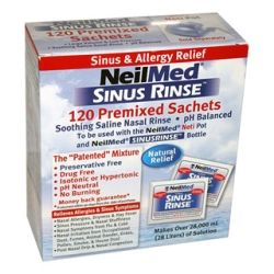 NeilMed Sinus Rinse Premixed Packets 120