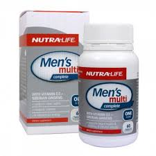 Nutra-Life Mens Multi Complete Tabs 60