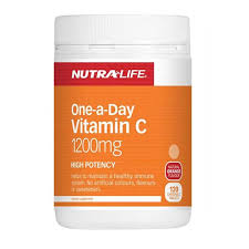 Nutra-Life Vitamin C 1200mg Chews 120tabs