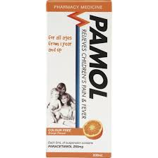 PAMOL All Ages Orange Colour Free 100ml