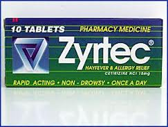 Zyrtec 10mg Tablets 10