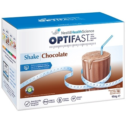 OPTIFAST Chocolate Shake 18x54g