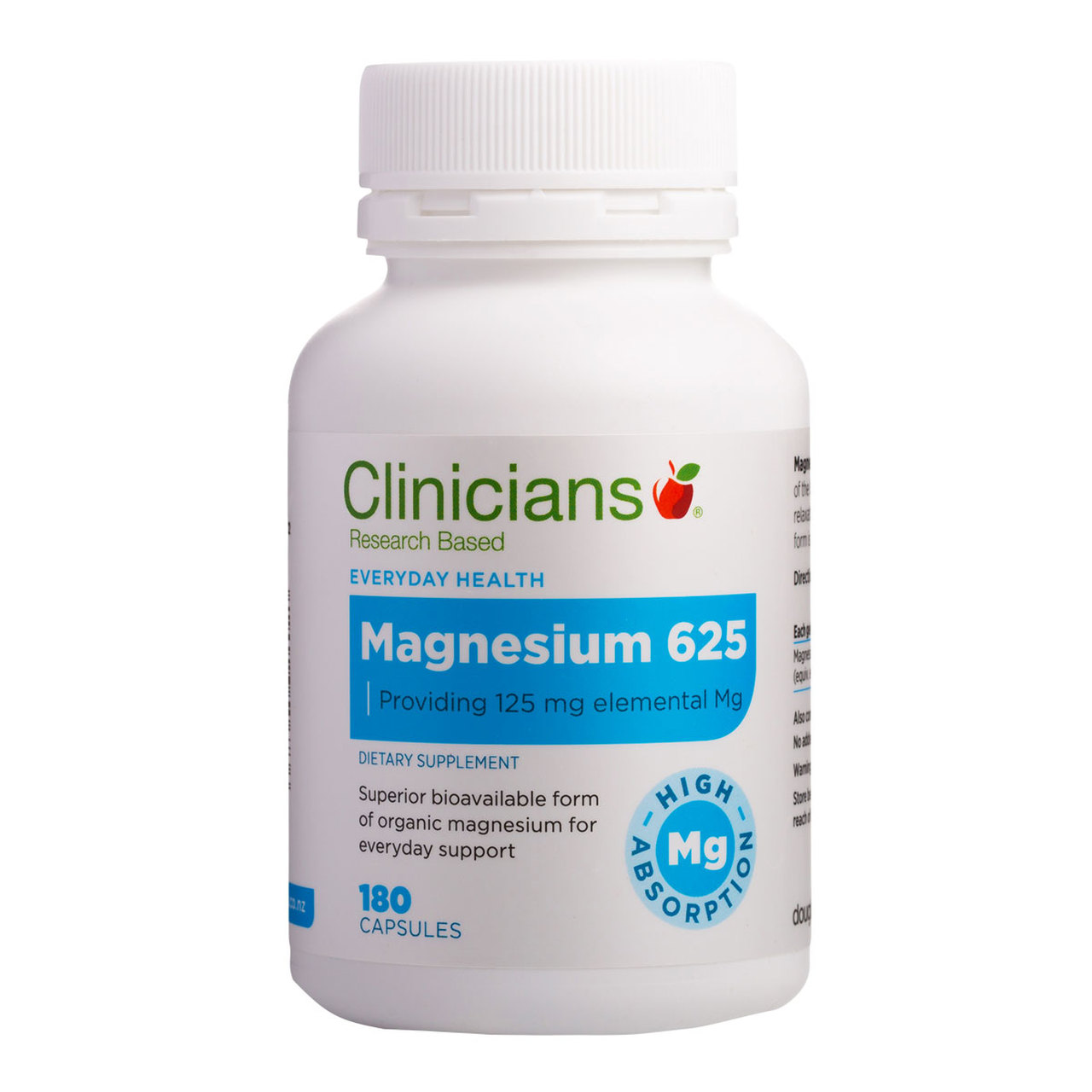 Clinicians Magnesium Capsules 90 TWIN PACK