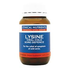 Ethical Nutrients Lysine Viral Cold Sore Defence 60tab