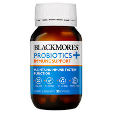 Blackmores Probiotics + Immune Support 30caps