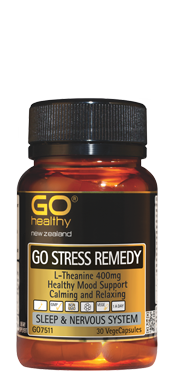 Go Healthy Stress Remedy 30 Vege caps