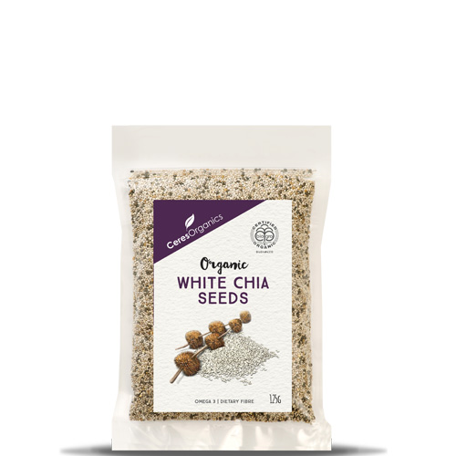 Ceres Chia Seeds White 125g