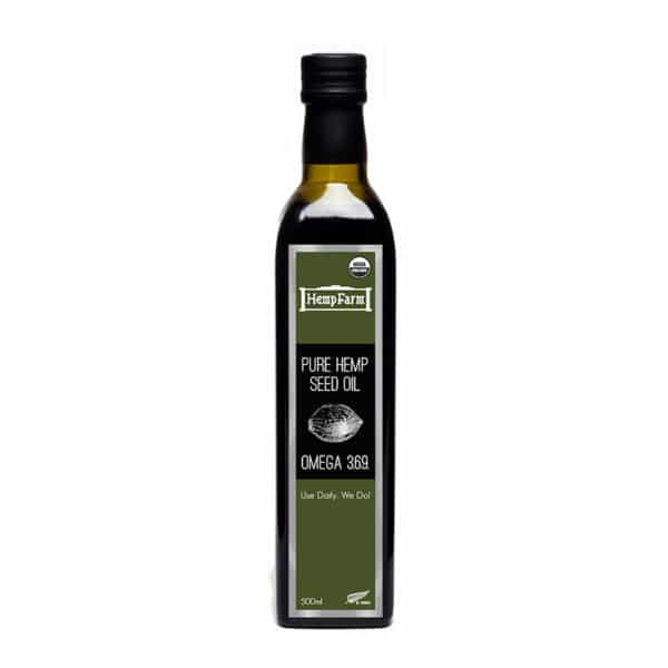 HempFarm Hemp Seed Oil 500ml