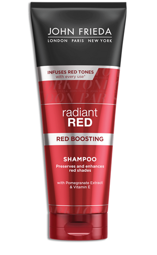 John Frieda Radiant Red Red Boosting Shampoo 250ml