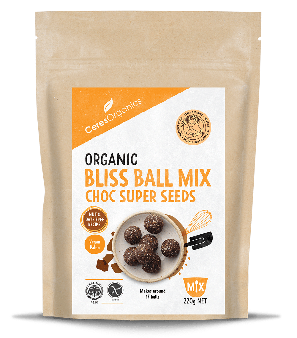 Ceres Organic Bliss Ball Mix Choc Super Seeds