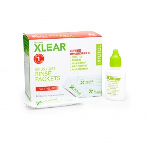 Xlear Xylitol Sinus Netipot Refil 20 count