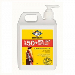 Surf Life Saving NZ SPF50 Sunscreen Pump 1L