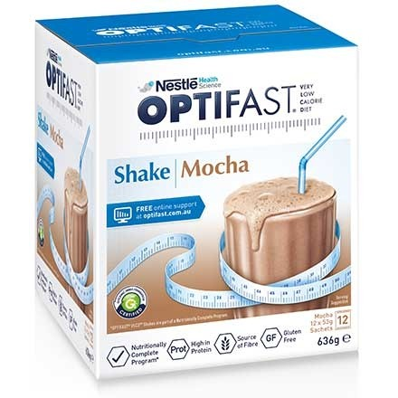 OPTIFAST VLCD Shake Mocha 12x53g