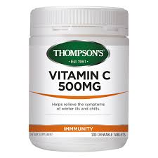 Thompsons Vitamin C 500mg Chewable 200 tabs