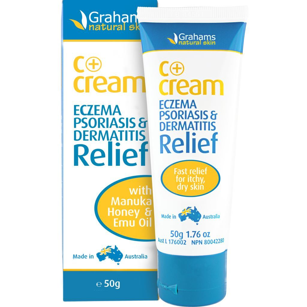Grahams Natural C Eczema & Dermatitis Cream 50gm