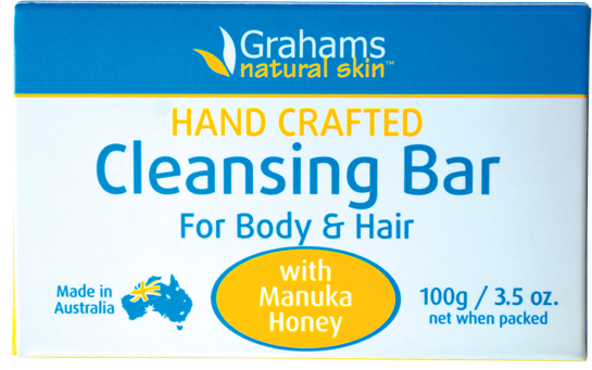 Grahams Natural Soap Bar 100g