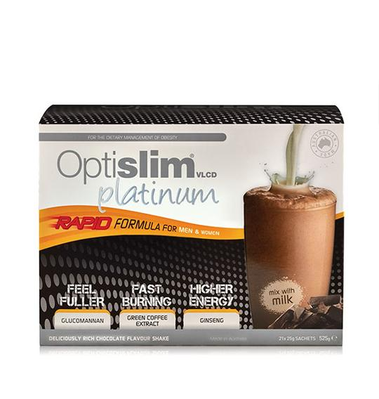 Optislim VLCD Platinum Shake Chocolate 21x25g
