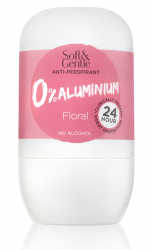 Soft & Gentle 0% Aluminium Anti-Perspirant Floral Roll On 50ml