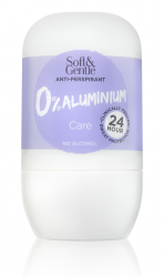 Soft & Gentle 0% Aluminium  Anti-Perspirant Care Roll On 50ml