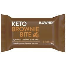 IsoWhey Keto Brownie Chocolate 33g