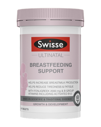 SWISSE UN Breastfeeding Support 90