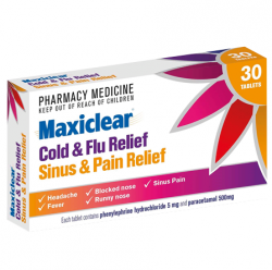 MAXICLEAR Cold & Flu Sinus &Pain 30