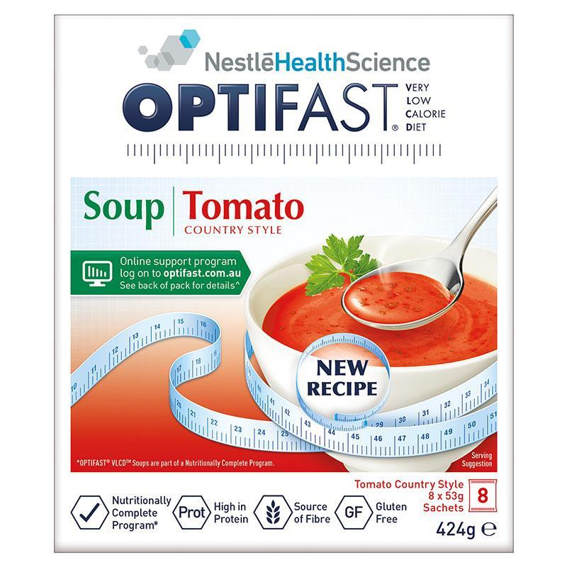 OPTIFAST VLCD Soup Tomato 8x53g