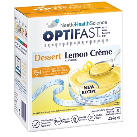OPTIFAST VLCD Dessert Lemon 8x53g